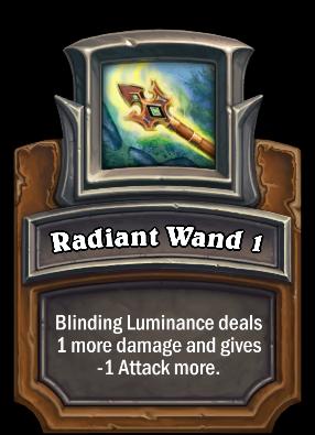 Radiant Wand 1 Card Image