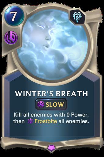 Winter's Breath Card Image