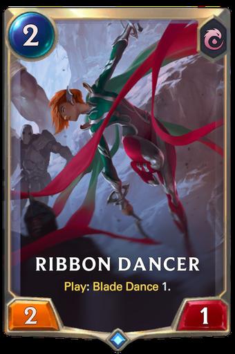 Ribbon Dancer Card Image