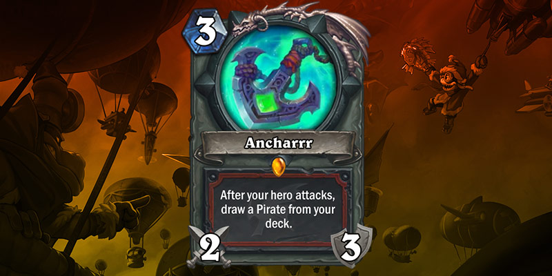 Warrior Legendary Weapon Reveal - Ancharrr