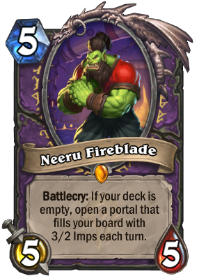 Neeru Fireblade Card Image