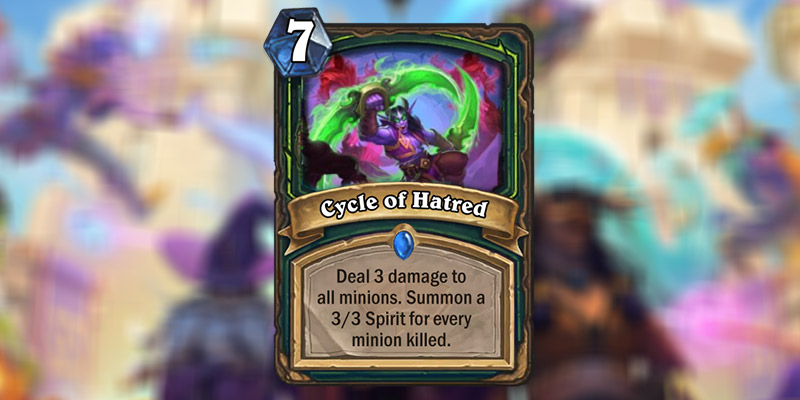 Cycle of Hatred is a Demon Hunter Card Revealed for Hearthstone's Scholomance Academy Expansion
