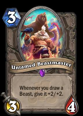 Untamed Beastmaster Card Image