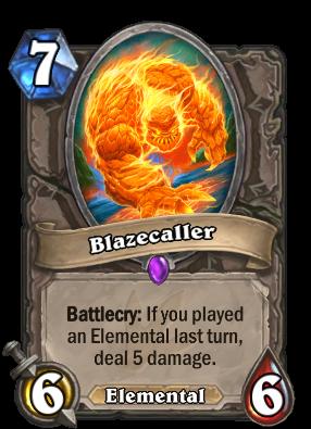 Blazecaller Card Image