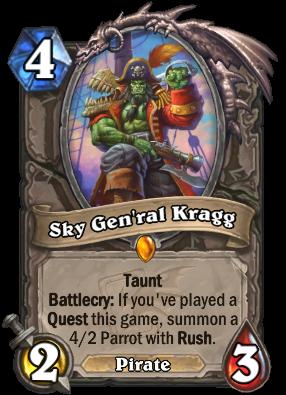 Sky Gen'ral Kragg Card Image
