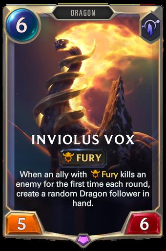 Inviolus Vox Card Image