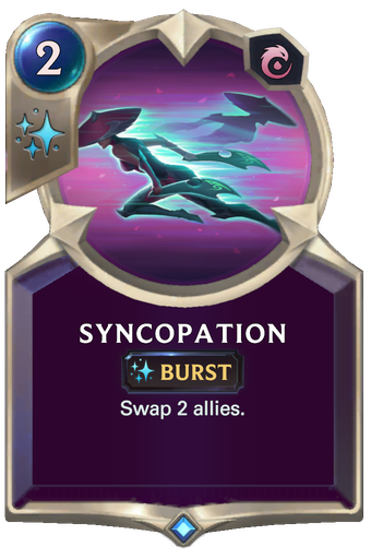 Syncopation Card Image
