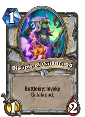 Disciple of Galakrond Card Image