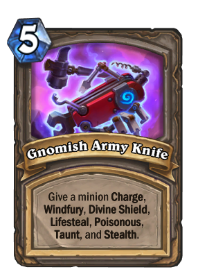 Gnomish Army Knife Card Image