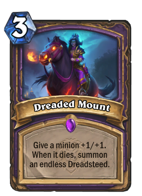 Dreaded Mount Card Image