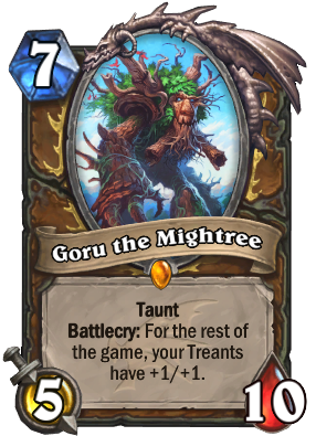 Goru the Mightree Card Image