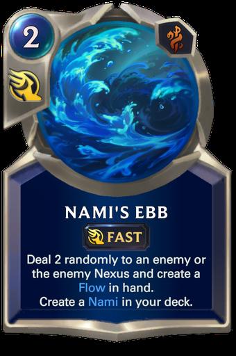 Nami's Ebb Card Image