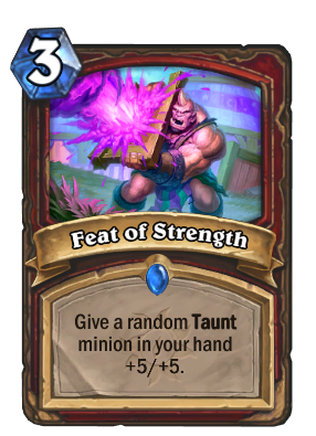 Feat of Strength Card Image