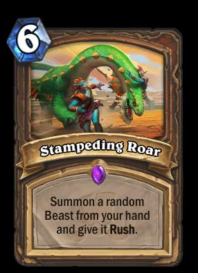 Stampeding Roar Card Image