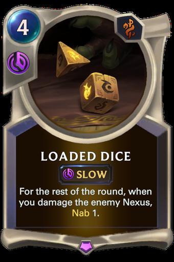 Loaded Dice Card Image