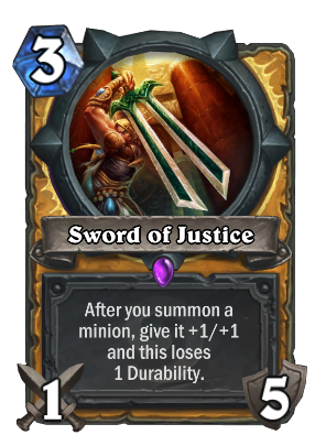 Sword of Justice Card Image