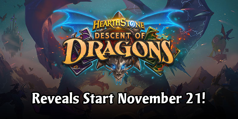The Descent of Dragons Reveal Schedule is Now Live!