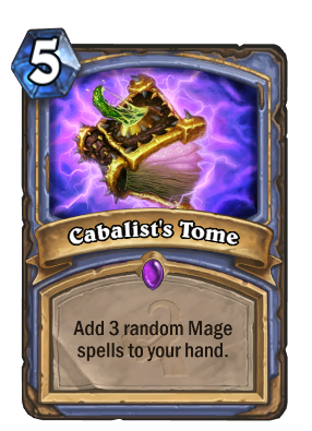 Cabalist's Tome Card Image