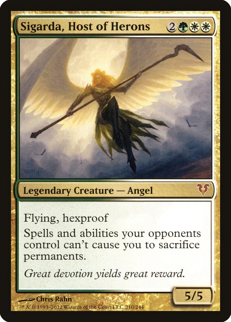 Sigarda, Host of Herons Card Image