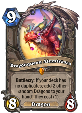 Dragonqueen Alexstrasza Card Image