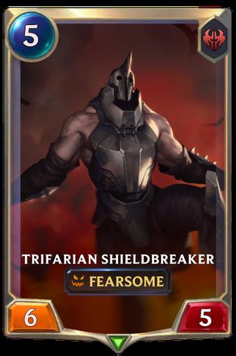 Trifarian Shieldbreaker Card Image