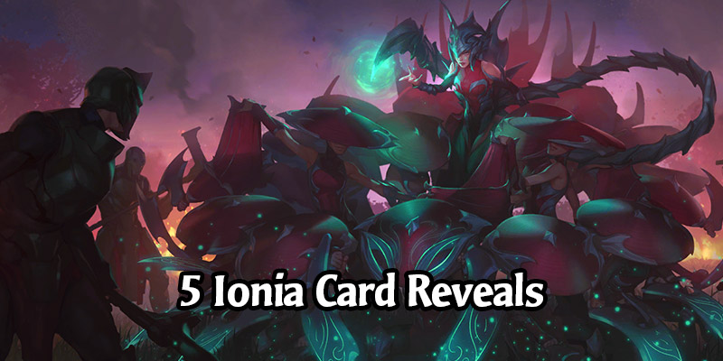 5 New Ionia Cards & Blade Dance Keyword for Runeterra's Guardians of the Ancient Expansion Revealed!