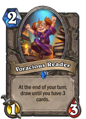 Voracious Reader Card Image