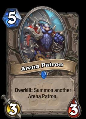 Arena Patron Card Image