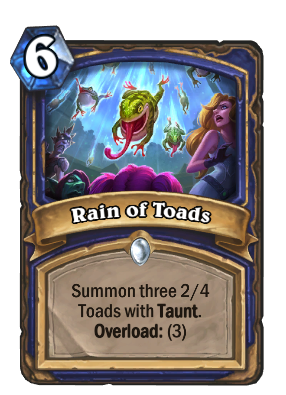 Rain of Toads Card Image
