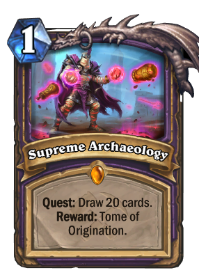 Supreme Archaeology Card Image