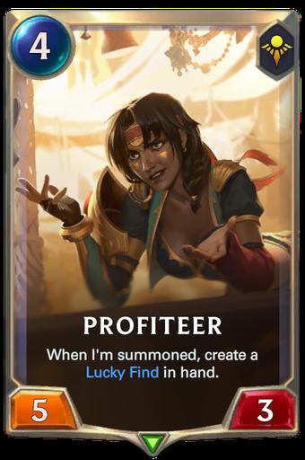 Profiteer Card Image
