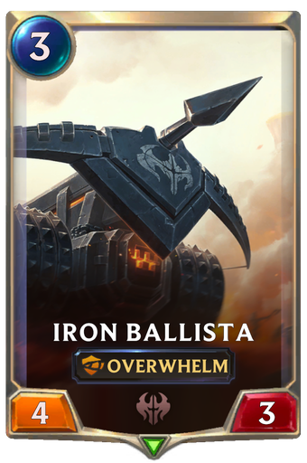 Iron Ballista Card Image