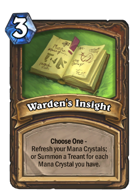 Warden's Insight Card Image