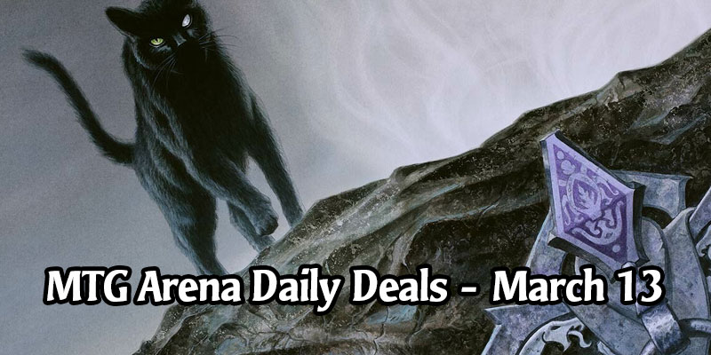 Daily Store Deals in MTG Arena for March 13, 2020