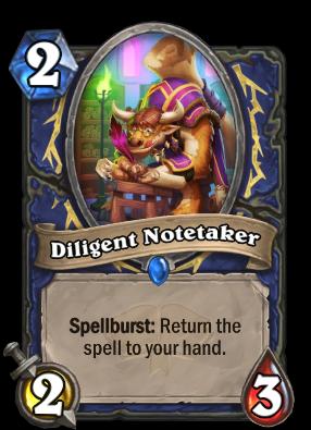 Diligent Notetaker Card Image