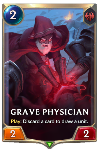 Grave Physician Card Image