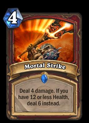 Mortal Strike Card Image