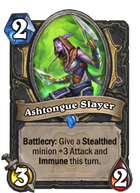 Ashtongue Slayer Card Image