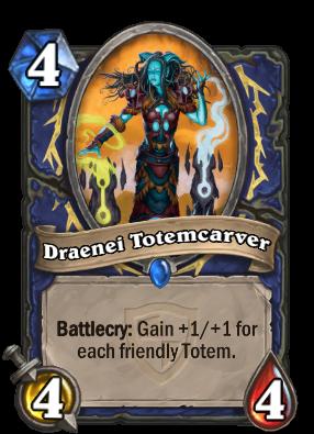 Draenei Totemcarver Card Image