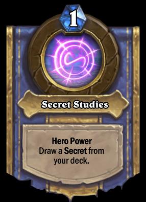 Secret Studies Card Image