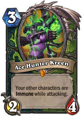 Ace Hunter Kreen Card Image