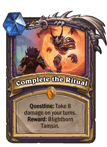 Complete the Ritual Card Image