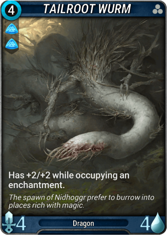 Tailroot Wurm Card Image