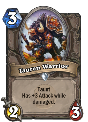 Tauren Warrior Card Image