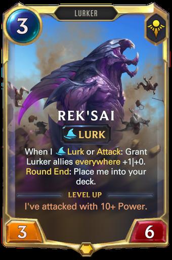 Rek'Sai Card Image
