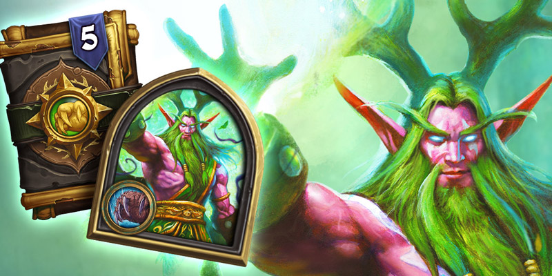 Book of Heroes Malfurion is Now Live - Get the Emerald Malfurion Hero Skin Bundle