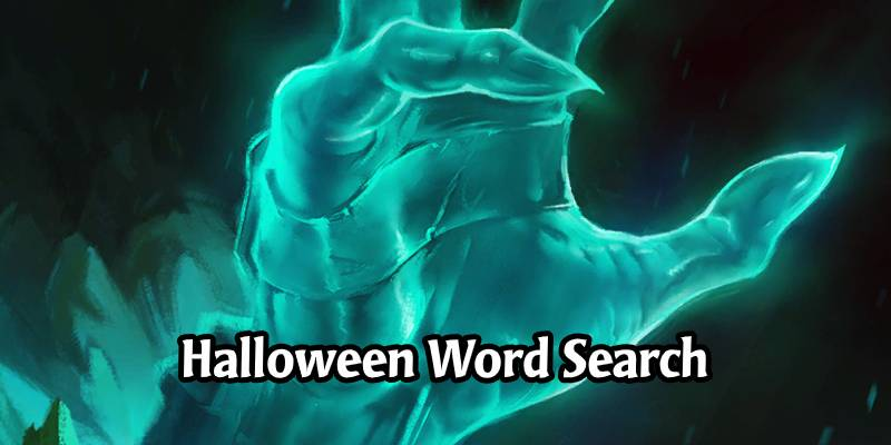Oozefest - An Eerie Runeterra Halloween Word Search Puzzle