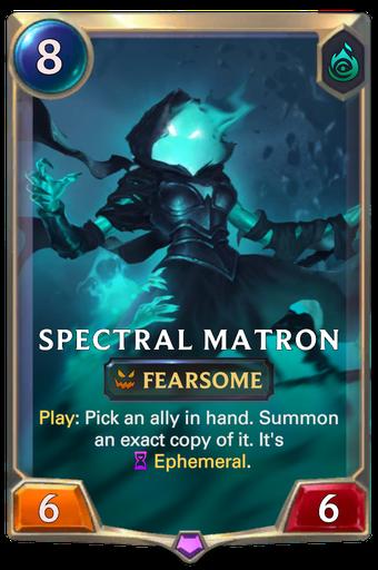 Spectral Matron Card Image