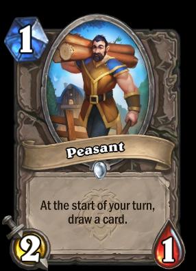 Peasant Card Image