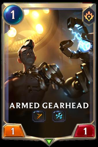 Armed Gearhead Card Image